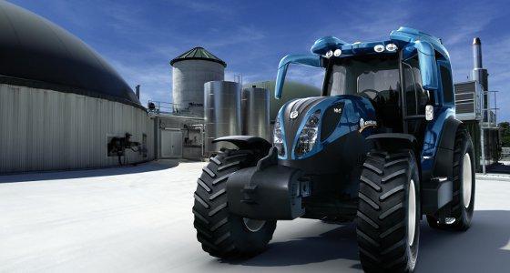 Agritechnica 2011 - New Holland - Une deuxième génération du tracteur à hydrogène NH2 !