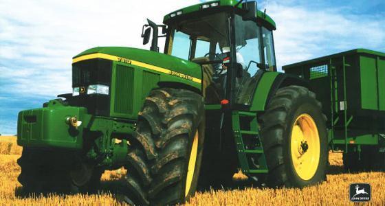 La cote agricole d'occasion tracteur - John Deere 7810, le premier a proposer l'AutoPowr