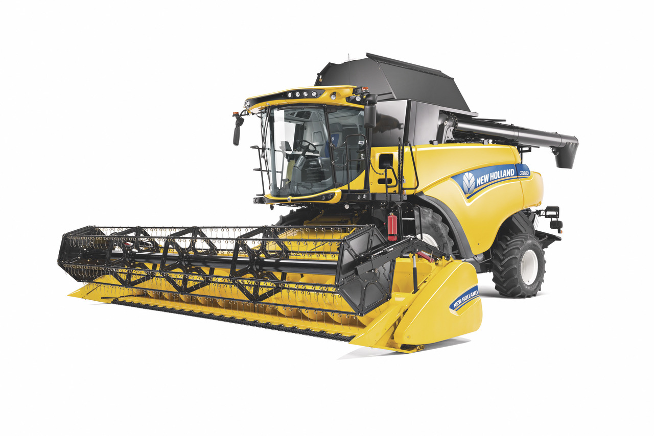 Hivernage récolte New Holland
