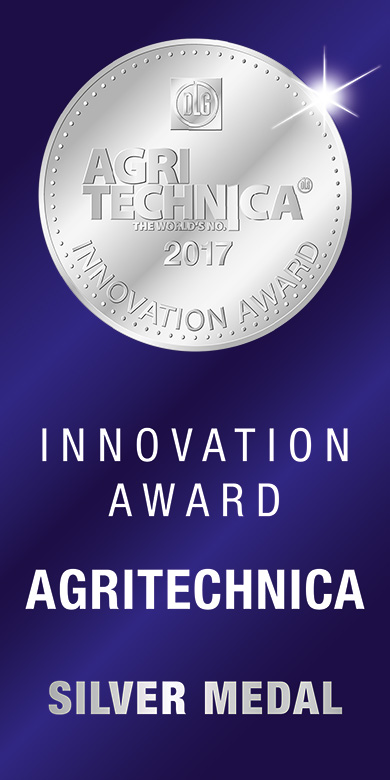 NEWS: Innovation Award AGRITECHNICA 2017 - Médaille d'argent pour NEW HOLLAND