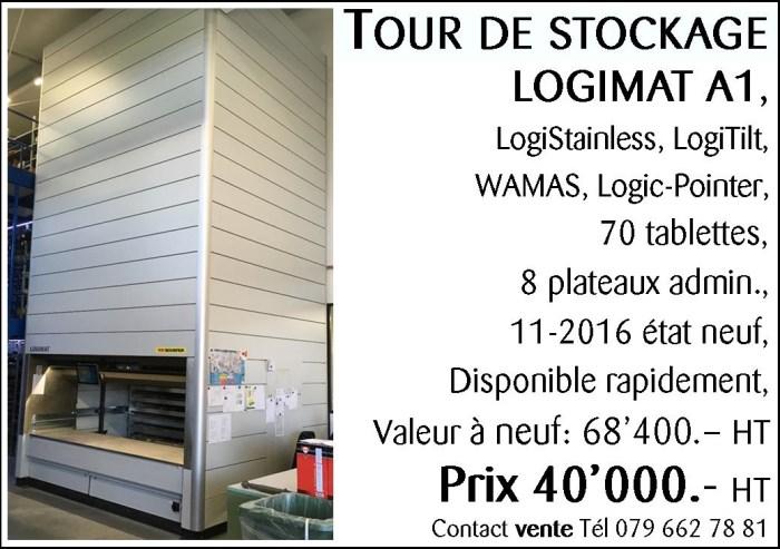 Tour de stockage verticale _ LOGIMAT