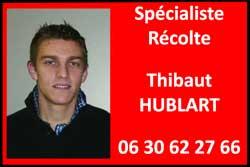 Specialiste Agriculture de precision Thibaut Hublart