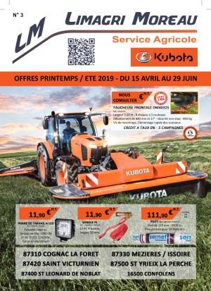 MAILING AGRICOLE PRINTEMPS 2019