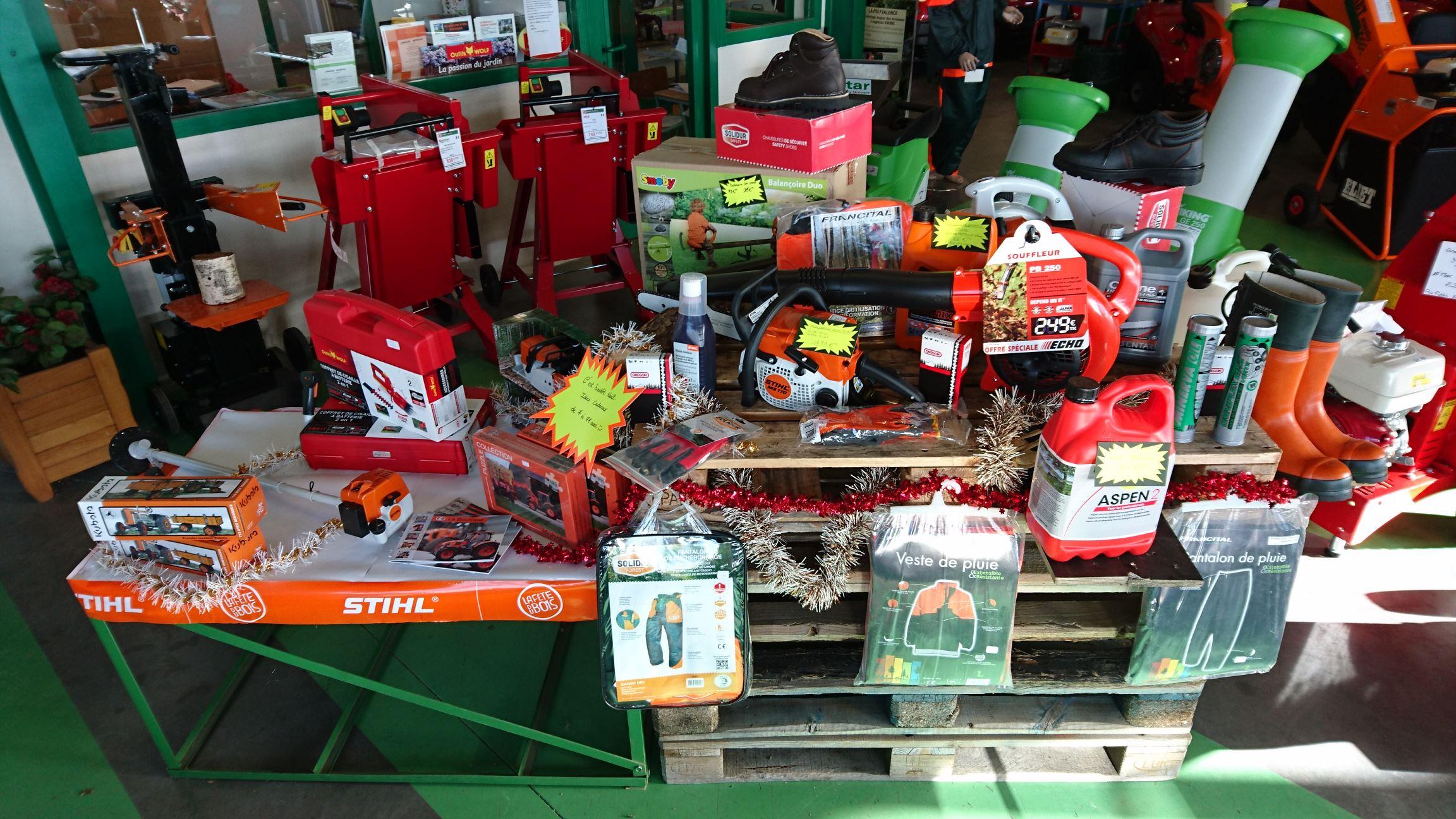 Noël en approche: Cadeaux utiles chez Limagri!