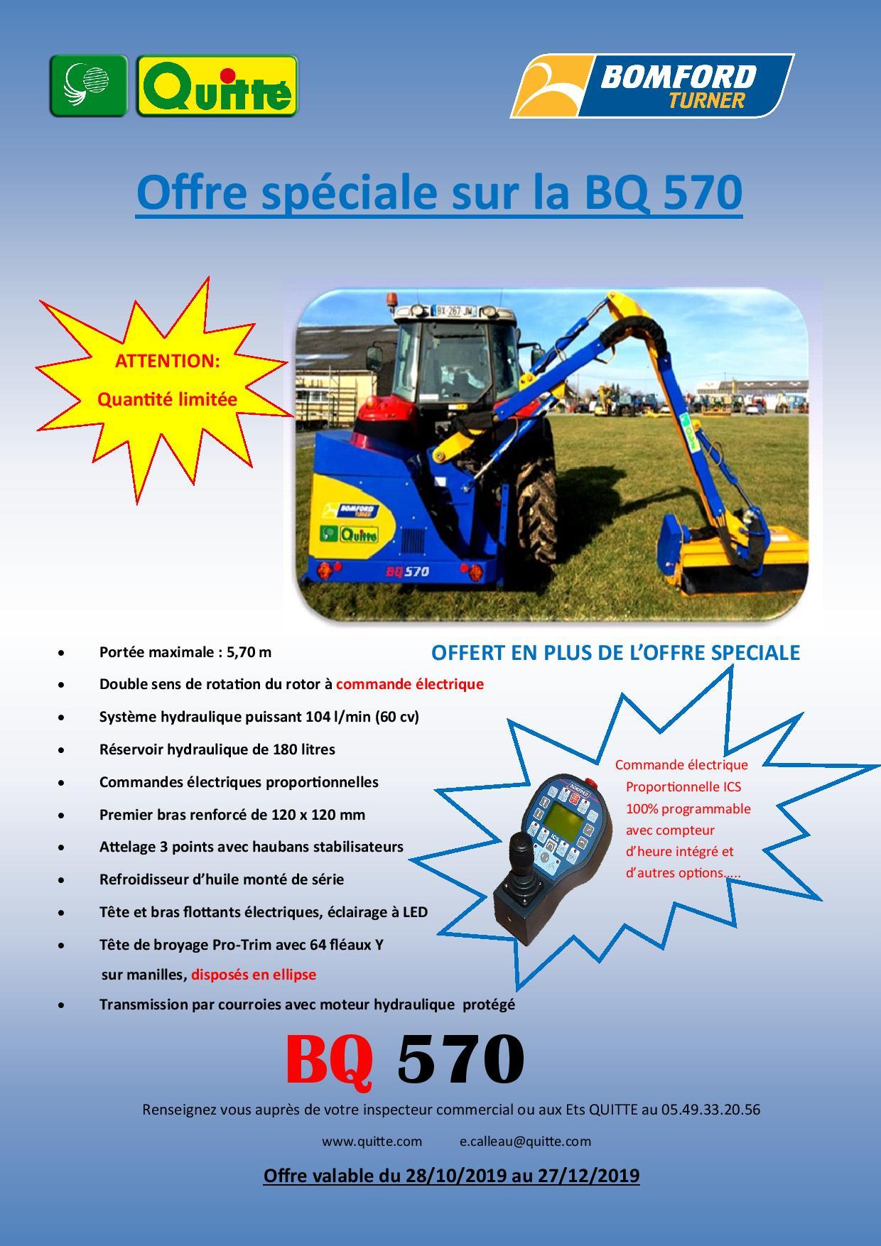 Bomford BQ570