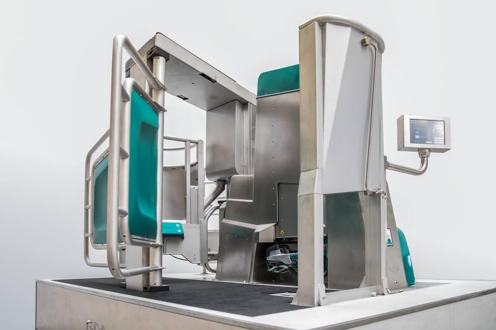 Le DairyRobot R9500 de GEA