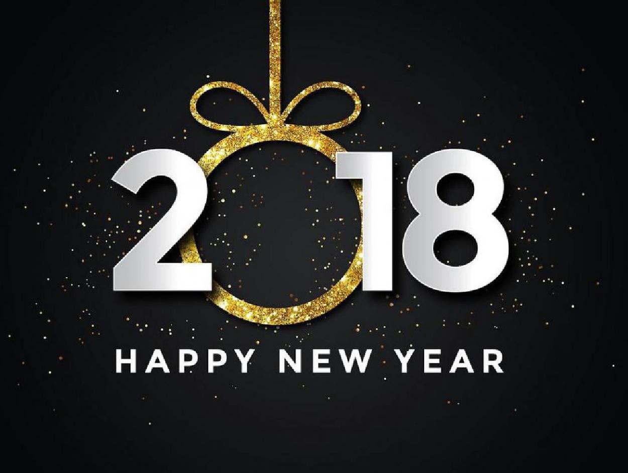 Meilleur Voeux pour l'année 2018