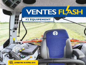 "Ventes ""FLASH"" #2 NEW HOLLAND"