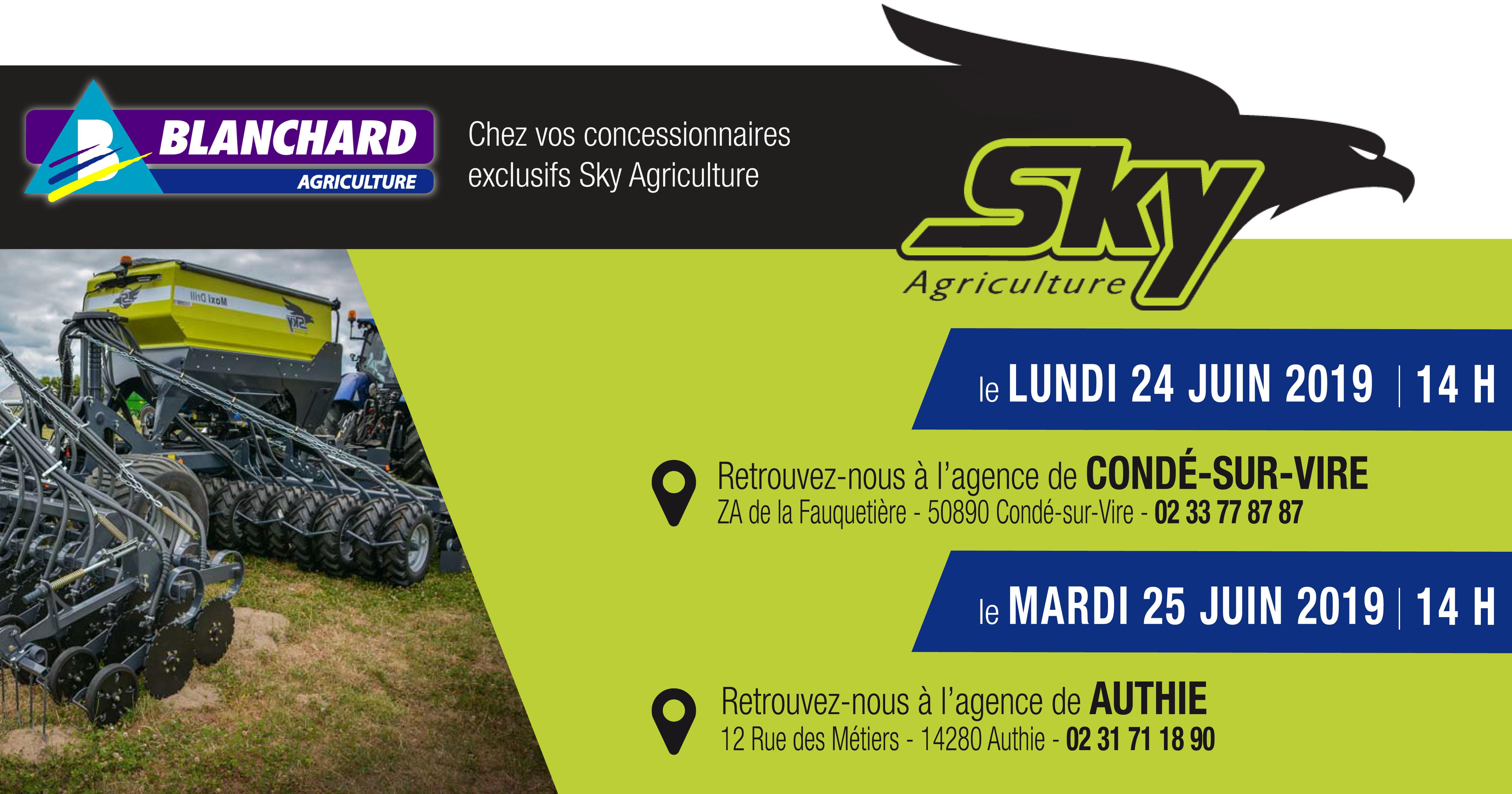 Journées de présentation SKY Agriculture