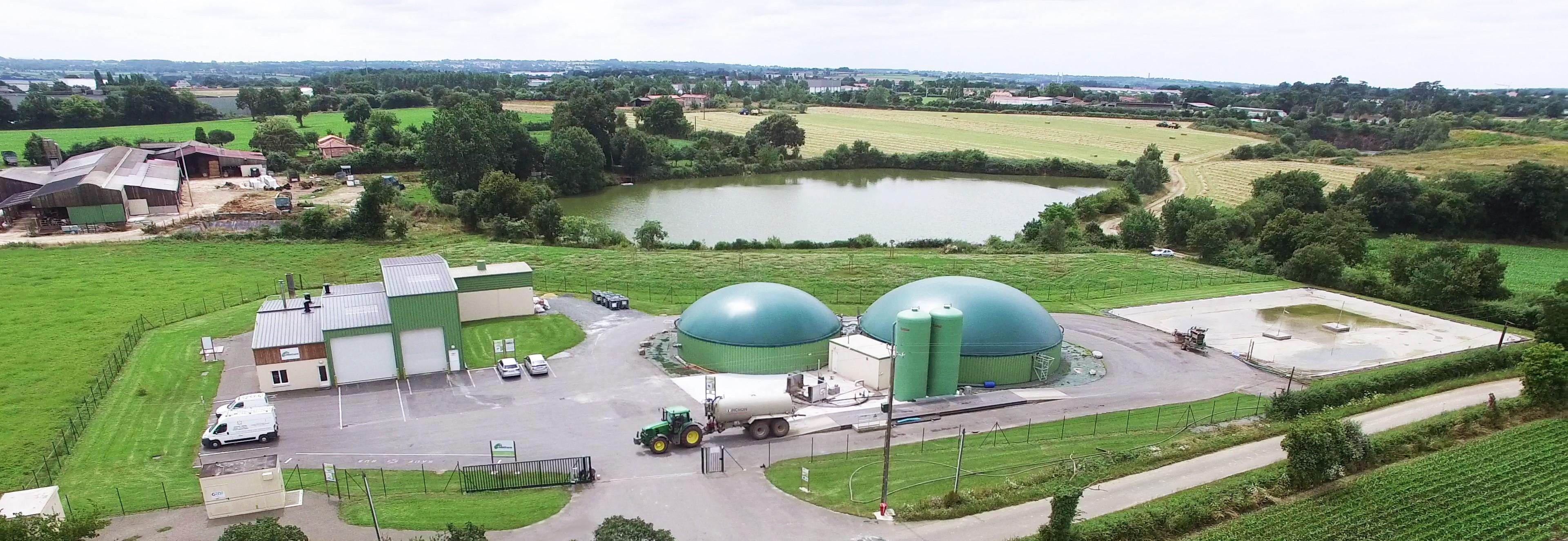Producteur de biométhane depuis avril 2014
