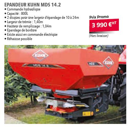 EPANDEUR KUHN MDS 14.2