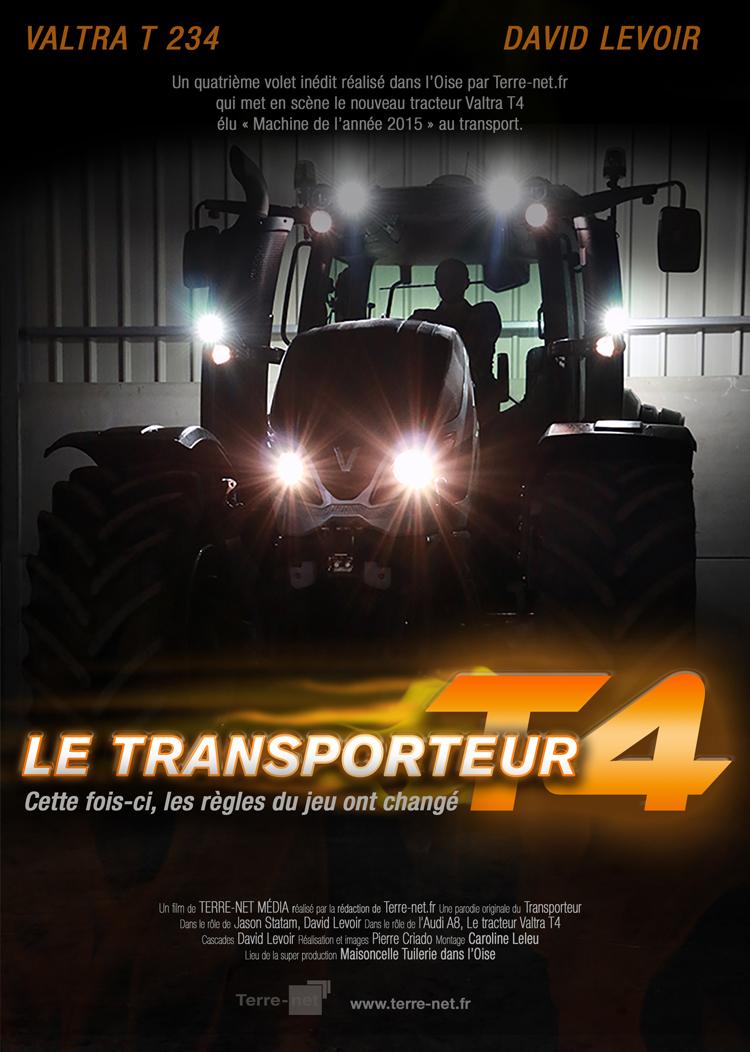 Essai du Tracteur Valtra T4 234 - Mission accomplie pour David Levoir dans le rôle du Transporteur